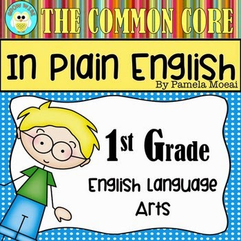 ELA CC Resource - 1st Grade