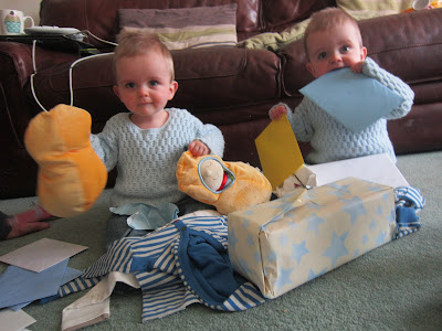 Twin boys 1st birthday