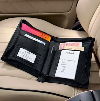 Document Organizer for you car :: OrganizingMadeFun.com
