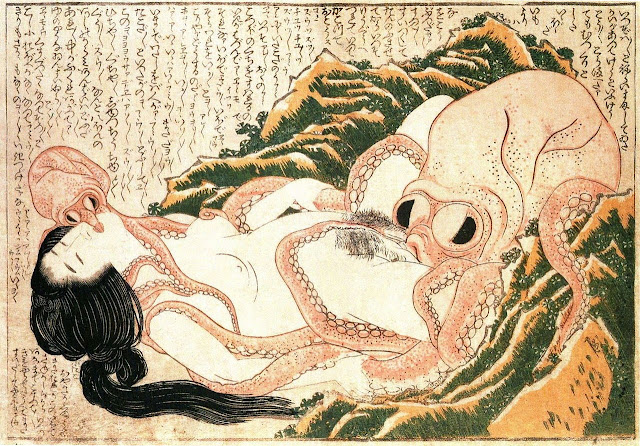 Hokusai_Dream_of_the_Fisherman's_wife_Interpretación