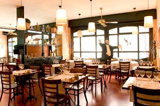 interior del ristorante da paolo cuyas pastas para celiacos son sabrosísimas