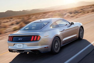 2015 Ford Mustang GT rear angle