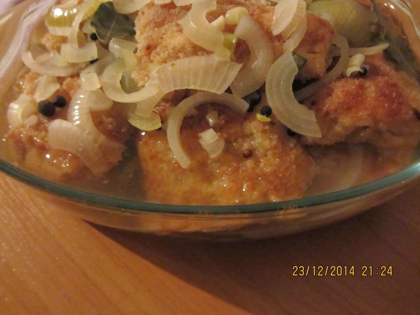 Kuchnia Beaty Ryby Smazone W Zalewie Octowej