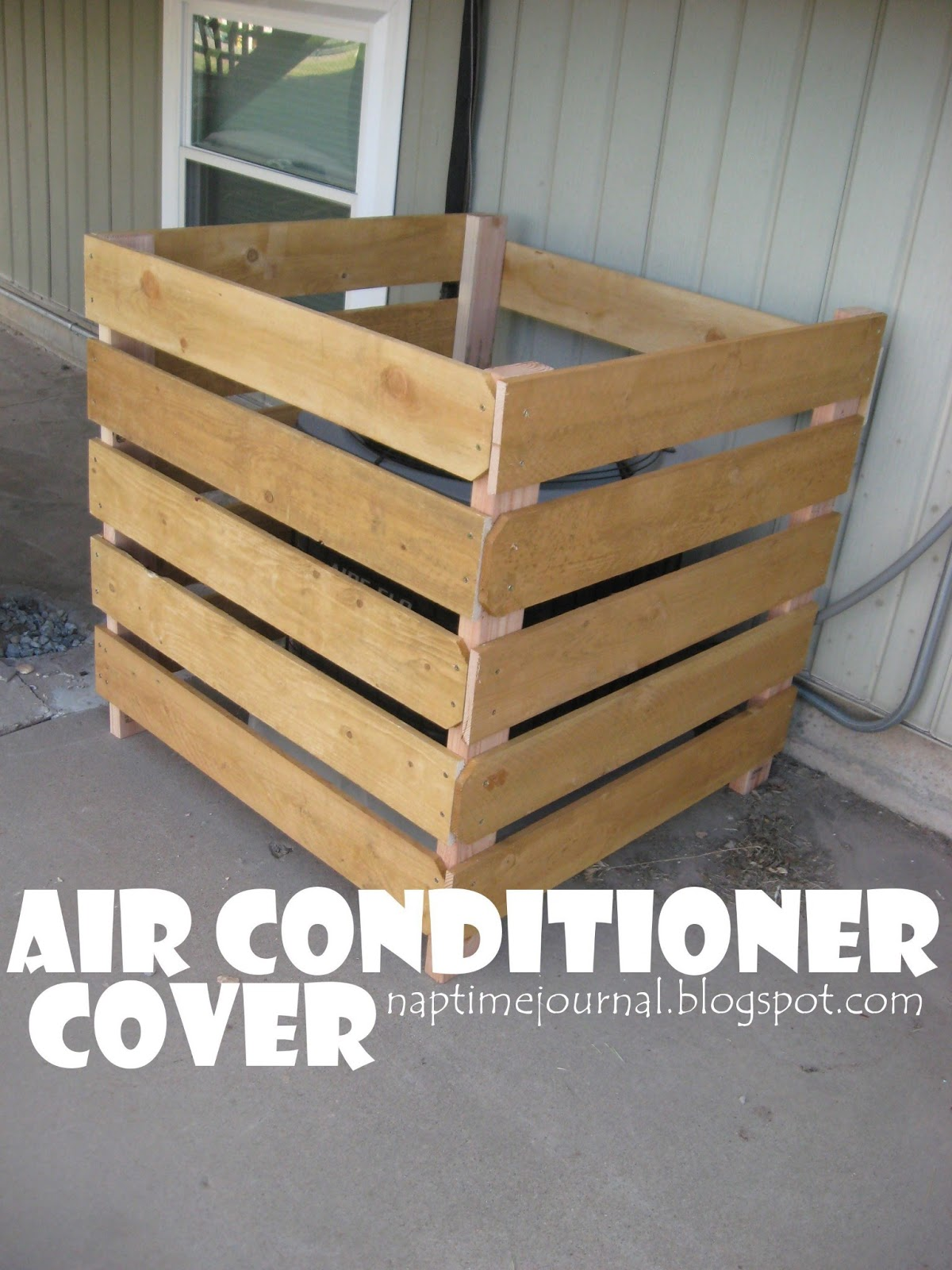 Nap Time Journal Air Conditioner Cover