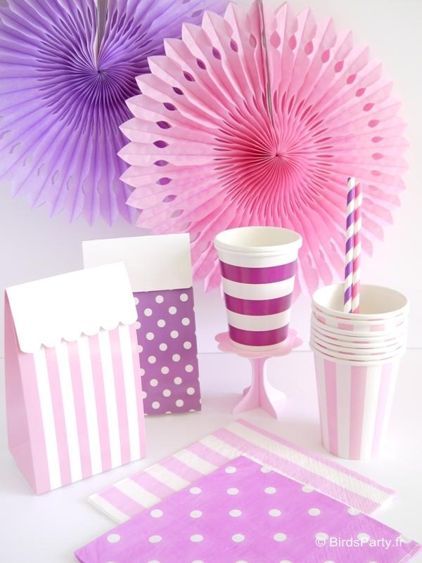 Article de Fête, Art de la Table, Cadeaux, Décorations Anniversaire, Mariage, Sweet Tables et Party Printables ROSE
