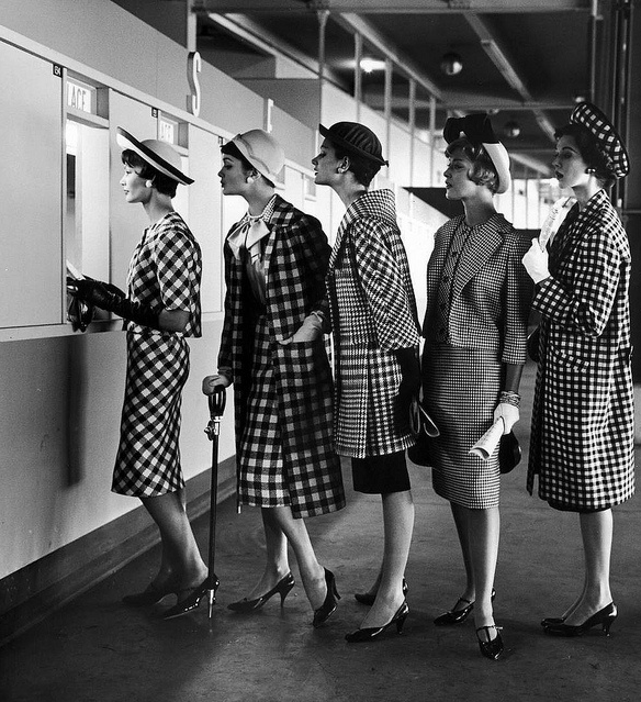 1958, Women's Suits #1950s #fashion #1960s #style #suit