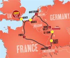 Europe Tour Mac 2013