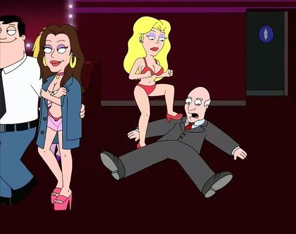 American Dad, Femdom, Ballbusting, BDSM