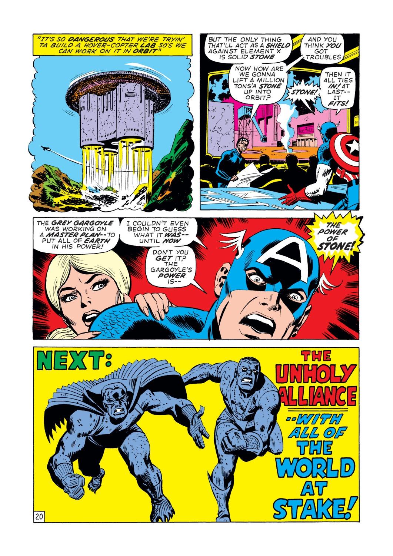 Captain America (1968) Issue #140 #54 - English 21