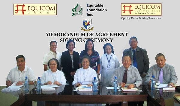 Equitable Foundation - Go Kim Pah scholarship program