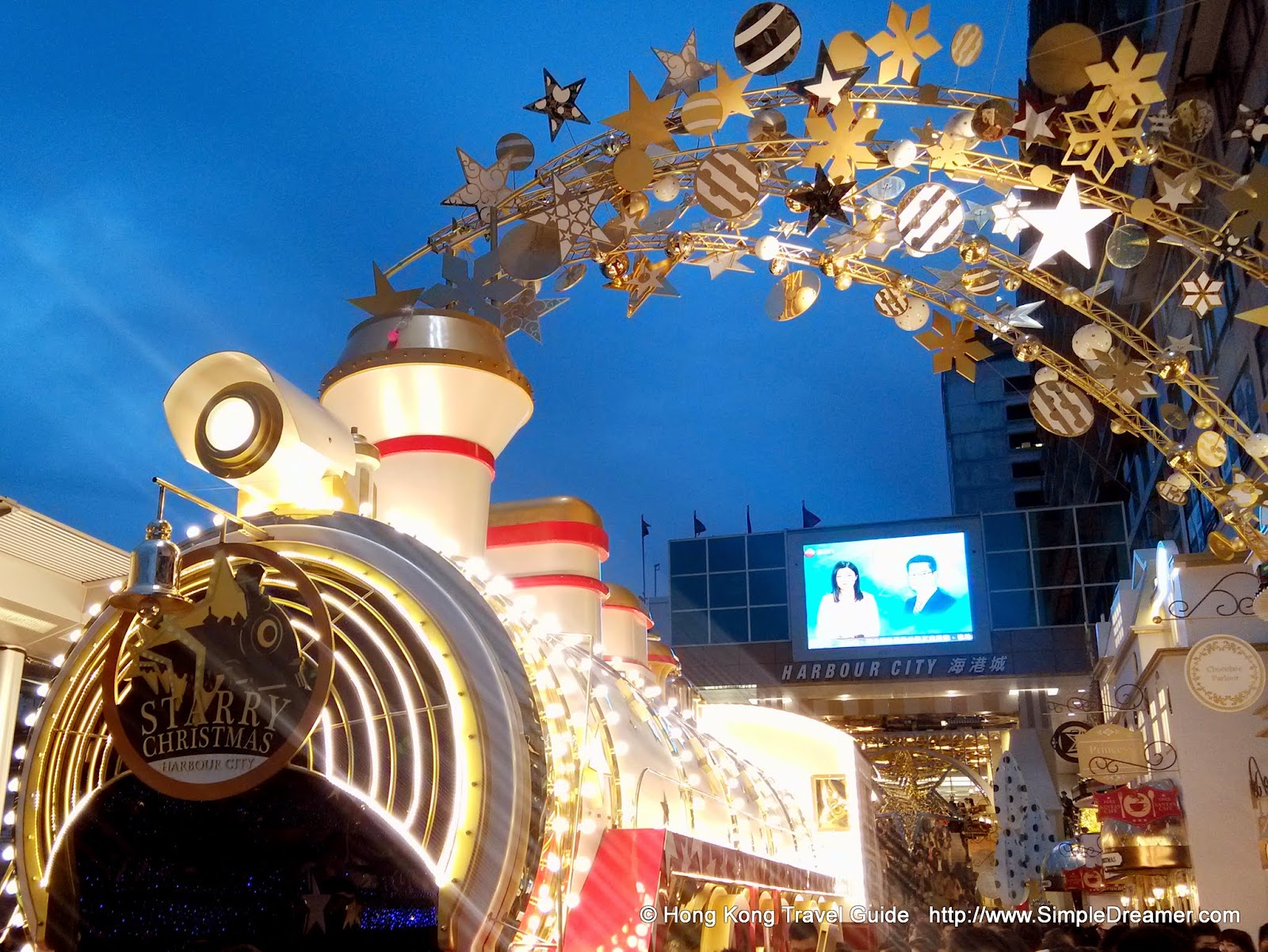 event harbour city starry christmas 2014 location ocean terminal forecourt harbour city address 3 27 canton road tsim sha tsui kowloon - Starry Christmas