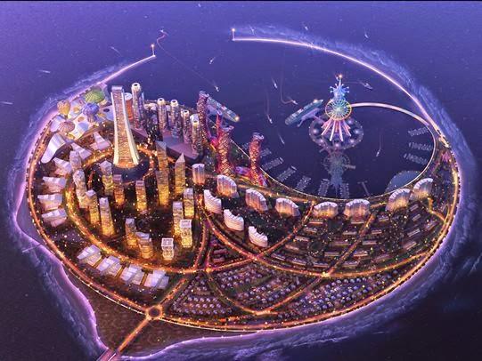 Phoenix island isla Fénix Sanya China