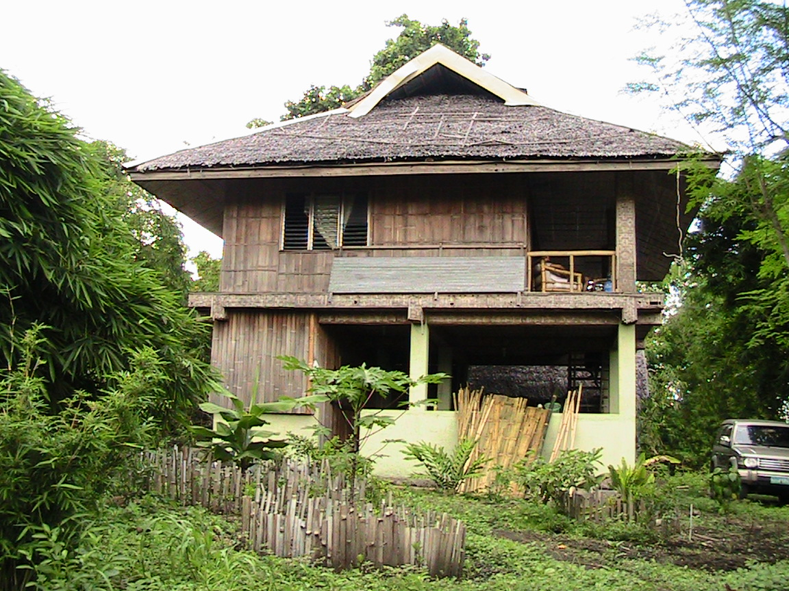2 bamboo house design wallpaper bamboo house for House design pic