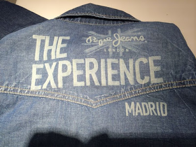 Calças de ganga personalizadas ou costumizadas na Pepe Jeans