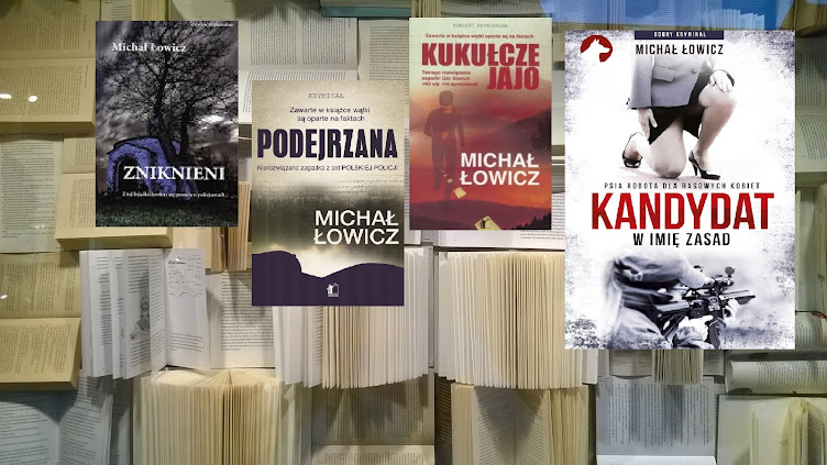 Doskonałe powieści kryminalne, w których bardzo celnie opisana jest współczesna Warszawa.