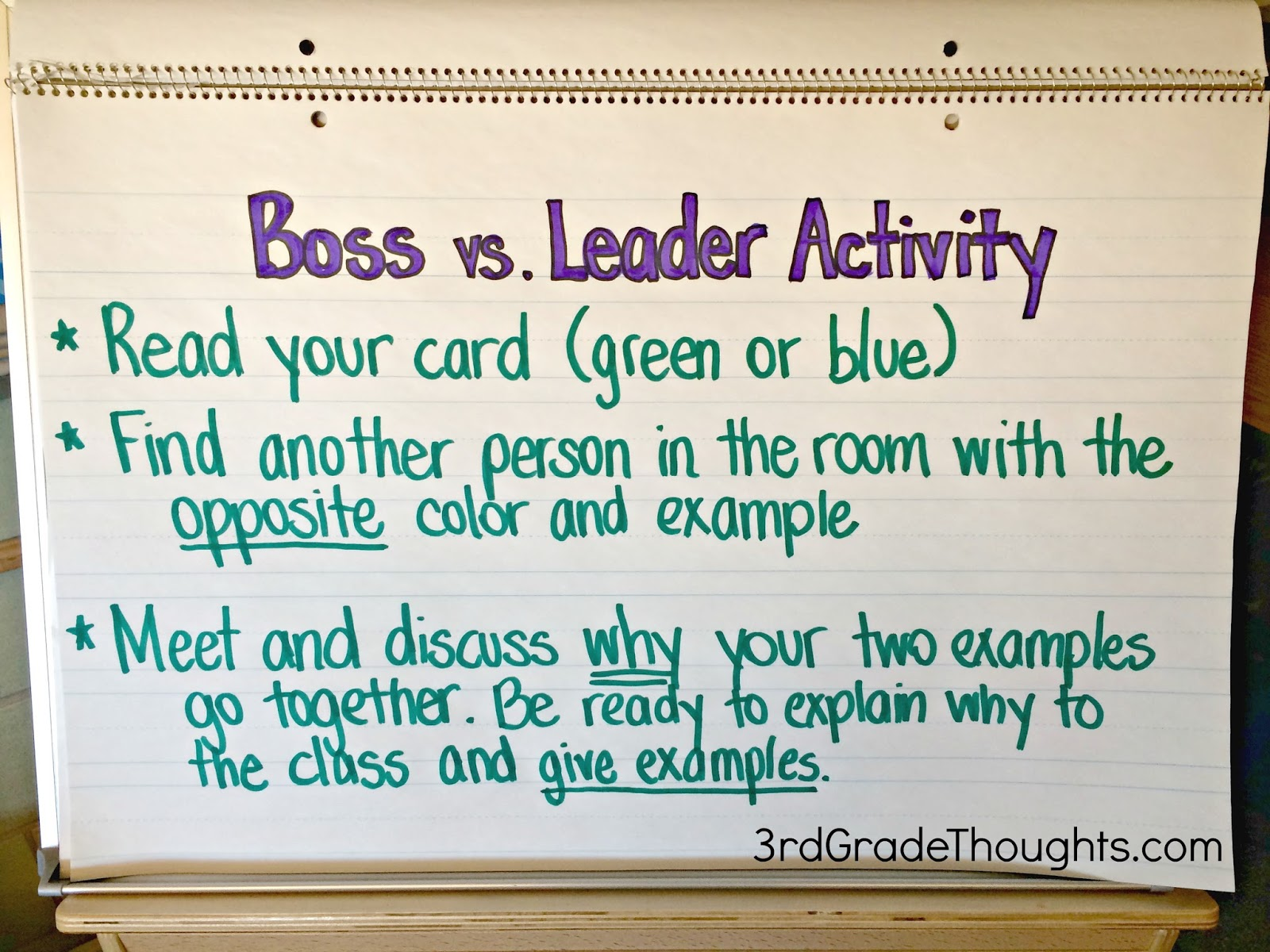bosses vs leaders lesson bies 3rd grade thoughts bosses vs leaders lesson bies
