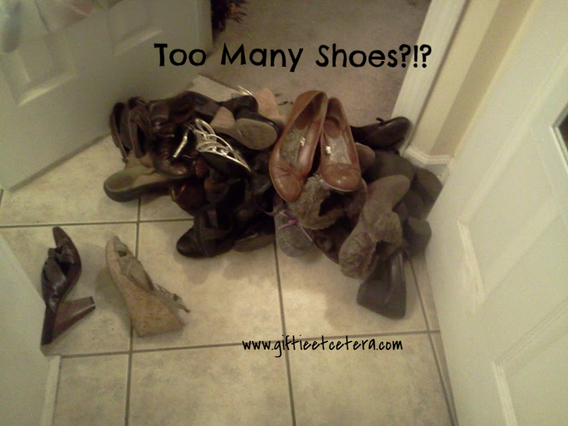 shoes, organizing, fashion
