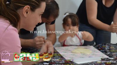 Taller coca d'oli en Laia's Cupcakes Puerto de Sagunto