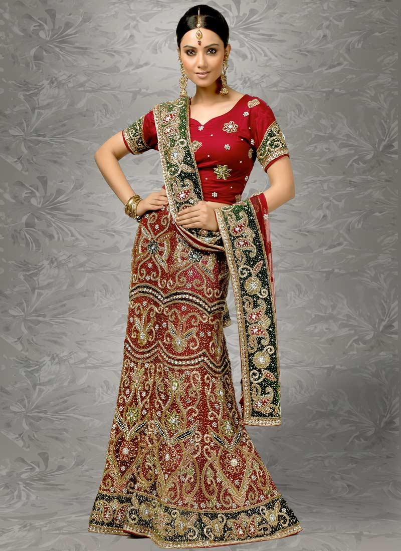 Индийские платья сари