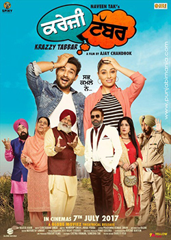 Krazzy Tabbar 2017 Punjabi Full Movie WEB DL 720p
