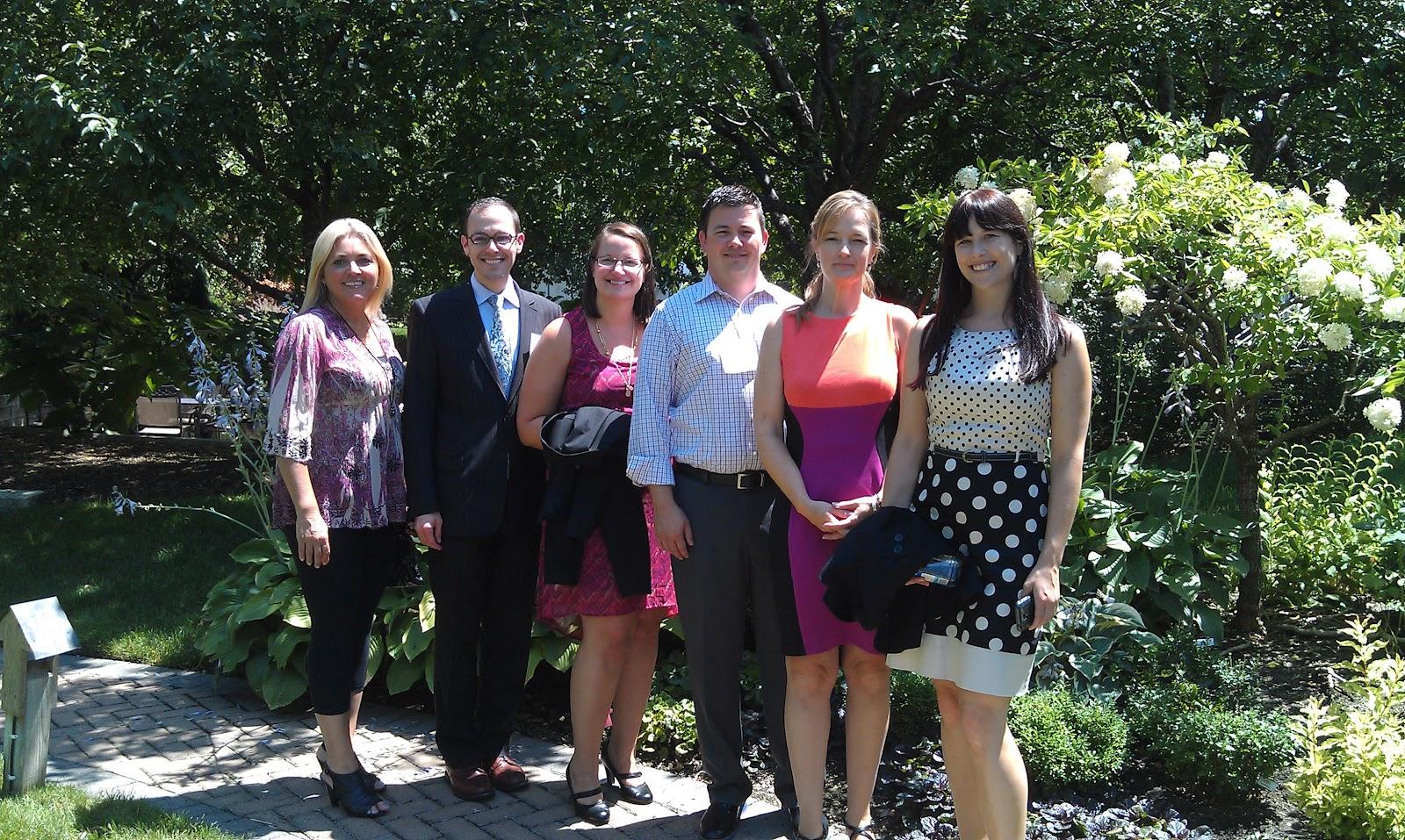 L C Williams Associates In The Mix Lcwa Clients Visit Meredith Editors