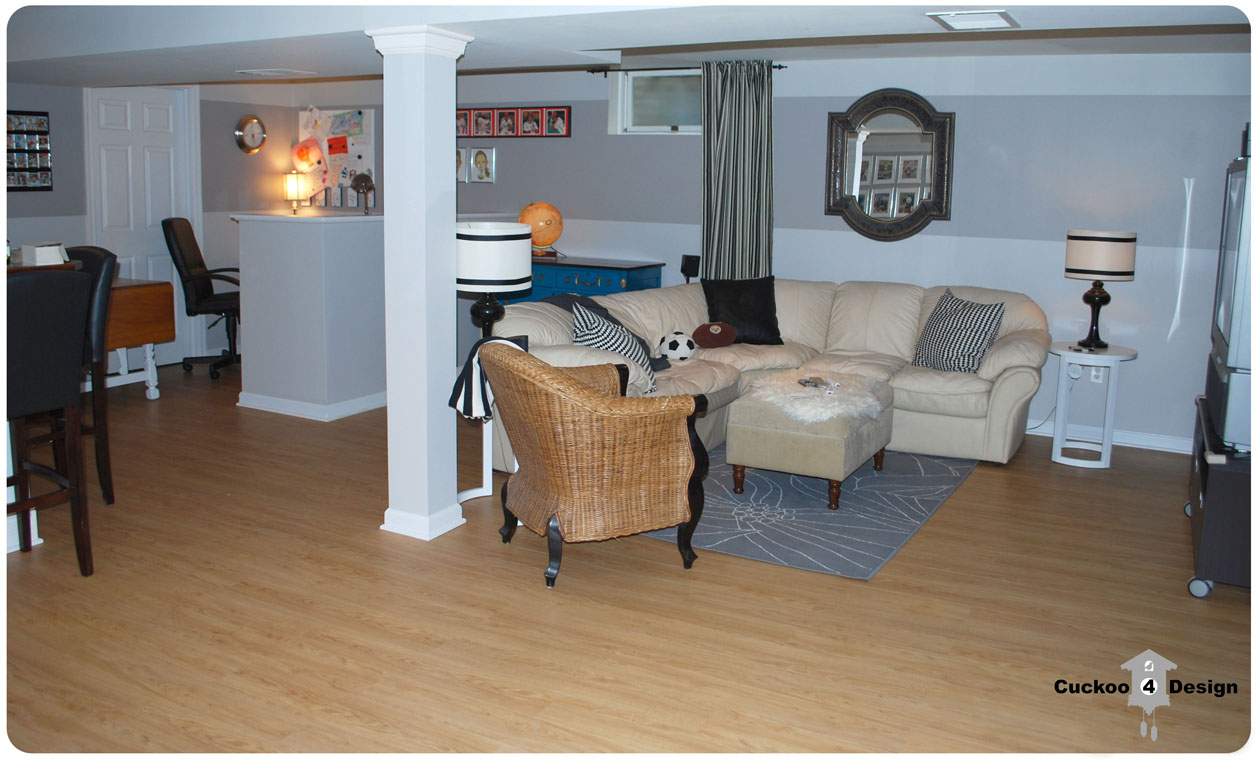 Allure Traffic Master Vinyl  Plank Floor review in basement