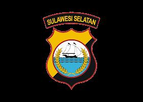 Polda Sulawesi Selatan Logo Vector download free