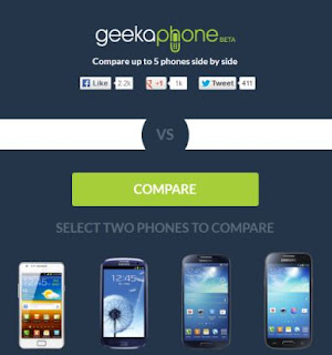 Compare Smartphone Specifications Online