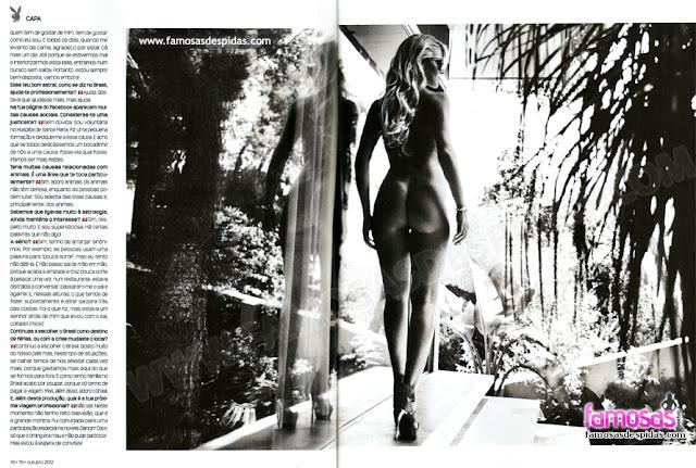 Fotos de Marta Pereira nua na Playboy Portugal