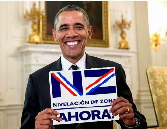 !!  Obama nos apoya ¡¡¡
