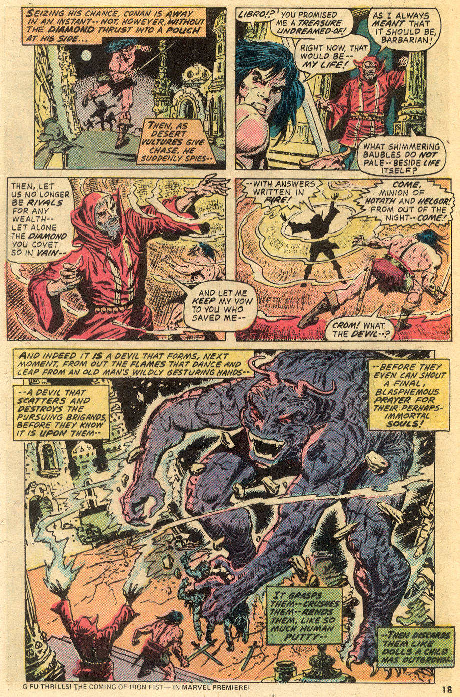 Conan the Barbarian (1970) Issue #40 #52 - English 13