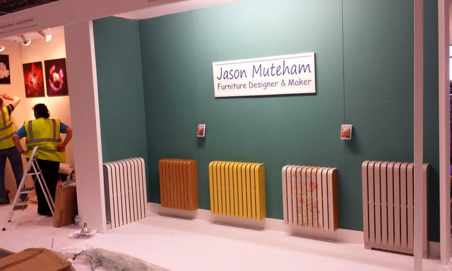 Cool radiator covers at Grand Designs Live 2014