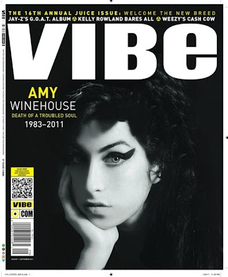 >Amy Winehouse en couv' de Vibe Magazine