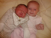 My beautiful grandchildren Ruby & Aaron