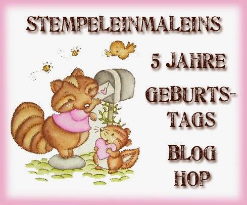 http://stempeleinmaleins.blogspot.de/2014/10/5-seme-geburtstags-blog-hop.html