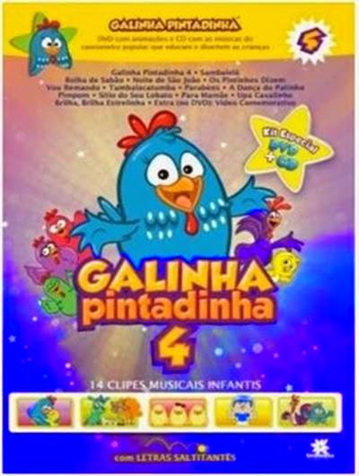 Filme Galinha Pintadinha Volume 4