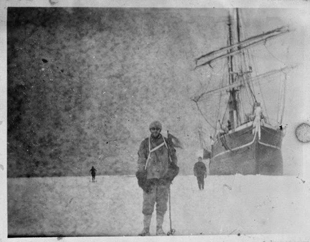 100-Year-Old Box Of Negatives Discovered Frozen In Block Of Antarctica's Ice