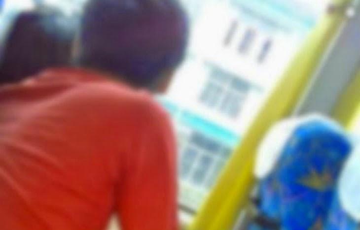 Pelajar IPTA Kantoi Oral Kekasih Dalam Bas Dirakam CCTV