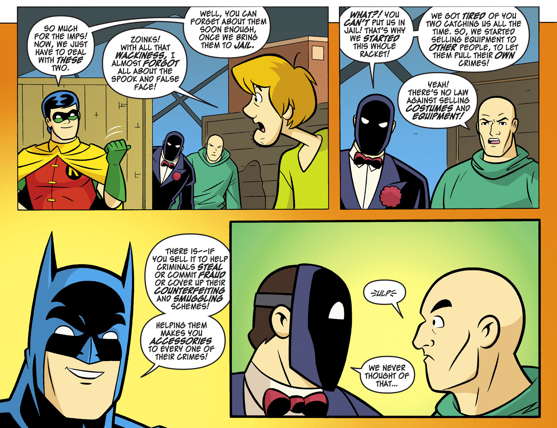 Read online Scooby-Doo! Team-Up comic -  Issue #6 - 20