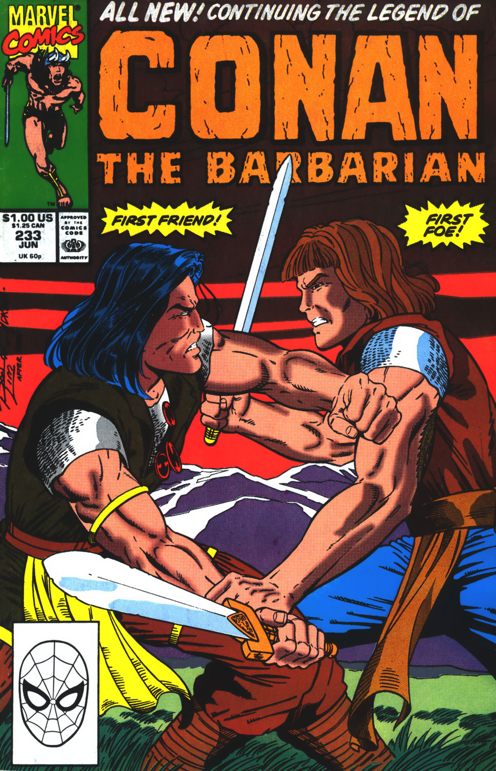 Conan the Barbarian (1970) Issue #233 #245 - English 1