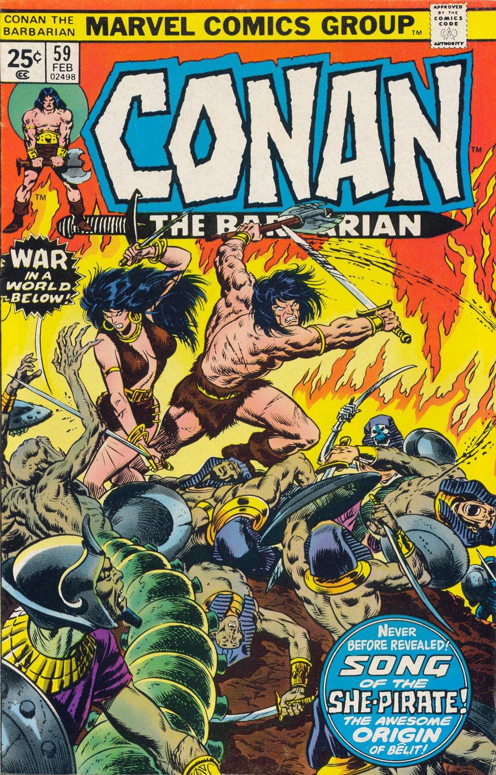 Conan the Barbarian (1970) 59 Page 1