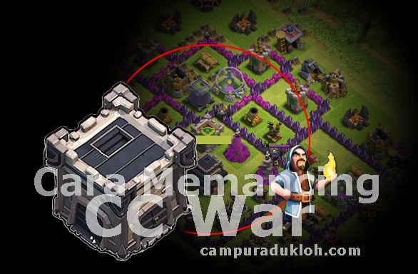 Mengeluarkan Clan Castle War