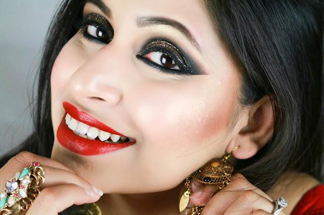 Eid Makeup - Glamorous Eid 2015 Special Makeup Tutorial for Evening