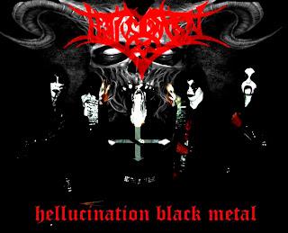 Hellucination Band Black Metal Bubulak Pondok Rumput Bogor Indonesia Foto Personil Logo Cover Artwork Wallpaper