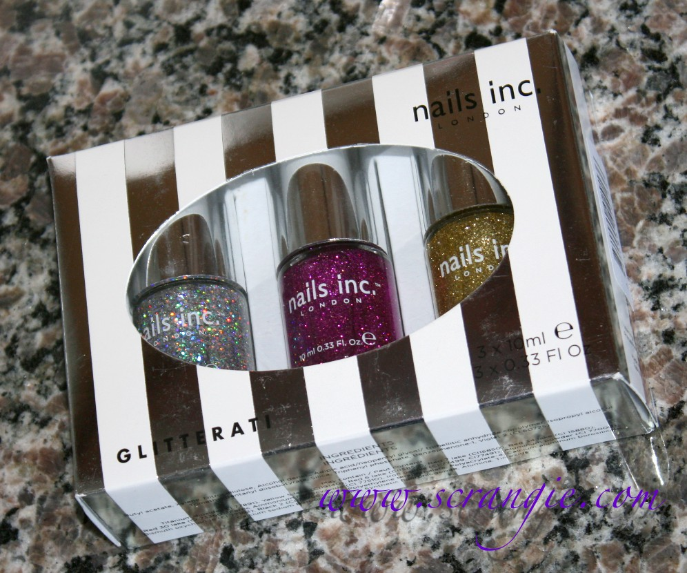 Scrangie: Nails Inc. Glitterati Glitter Nail Polish Set for Holiday ...