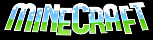 Minecraft png header logo image