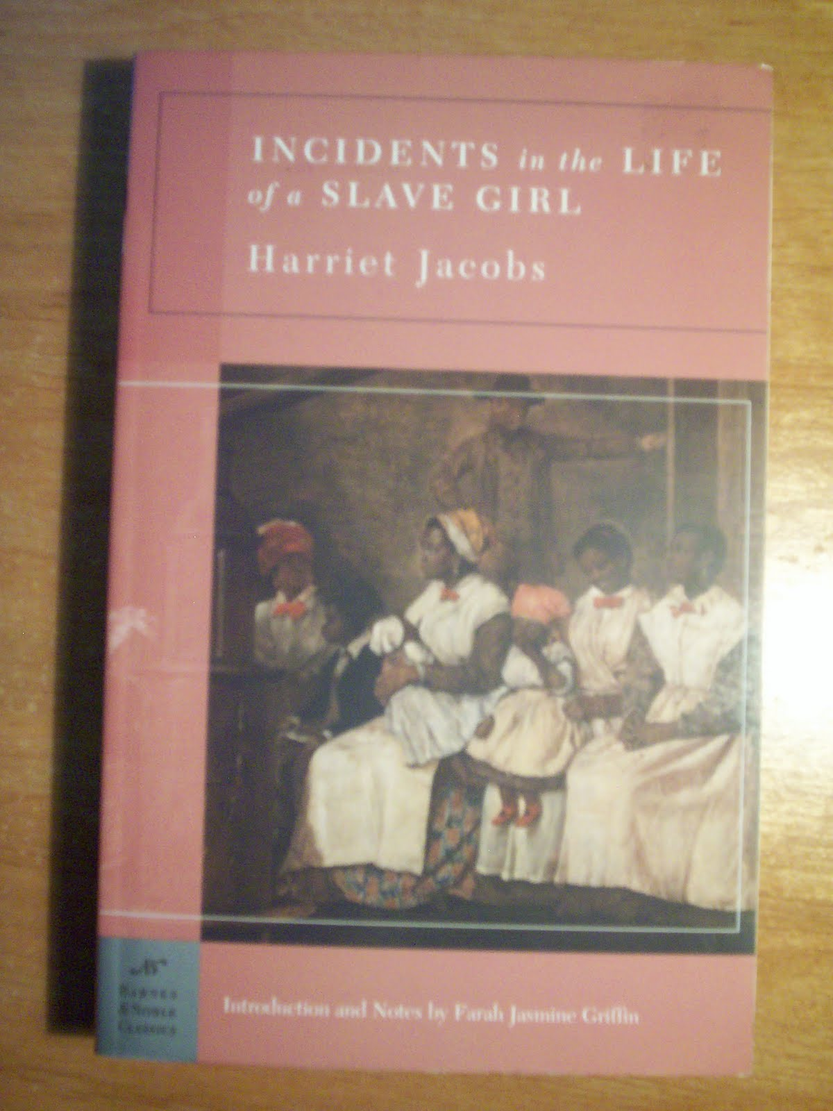 door stop novels  required work incidents in the life of a slave girl