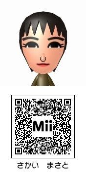 堺雅人のMii トモダチコレクション新生活