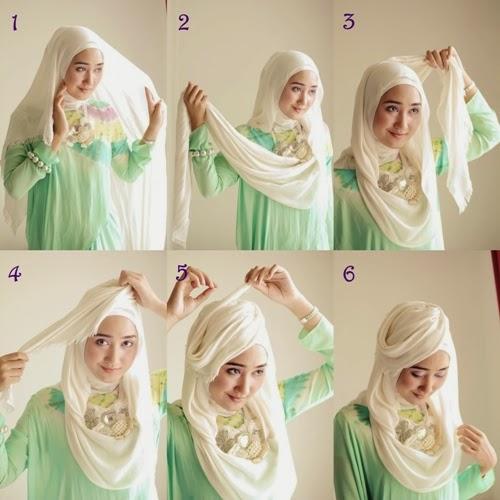 Cara Memakai Jilbab Ala Dian Pelangi yang Mudah | Cara Memakai Jilbab ...