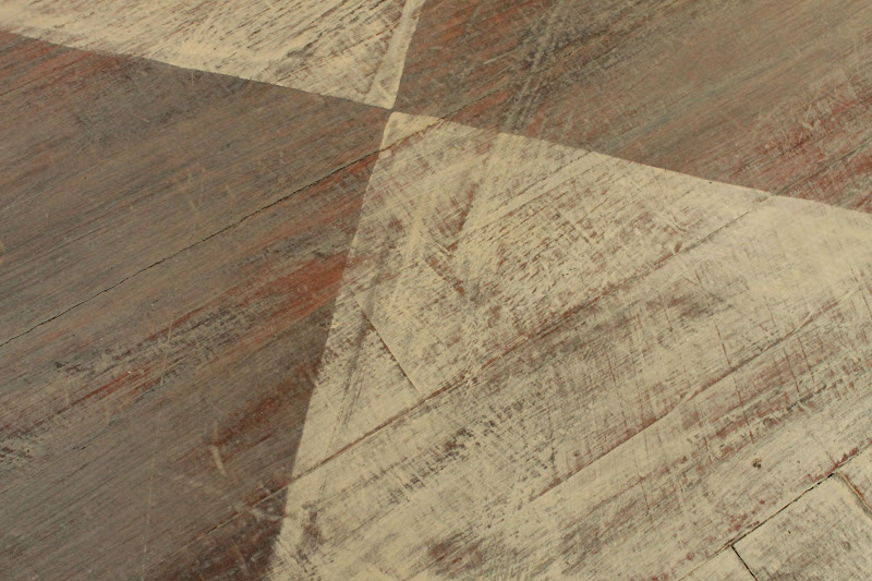 Vanhook co annie sloan 39 s chalk painted floor for Painting vinyl floors with chalk paint